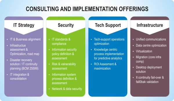 Consulting and Implementation Offerings